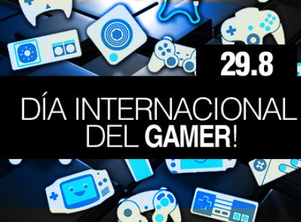 Hoy 29/8 se celebra el Día del Gamer, os lo contamos ennúmeros