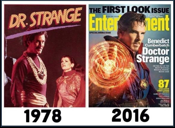 "Campañas de Marketing : El Marketing de Marvel Studios desde 1978 hasta hoy  ""Dr. Strange (1978)""."