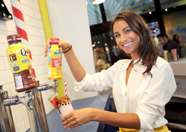 Marketing de eventos: Nesquik Milk Stop