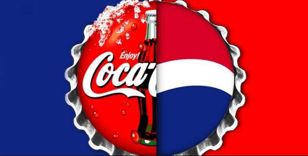 Guerra de logos: Coca-Cola vsPepsi