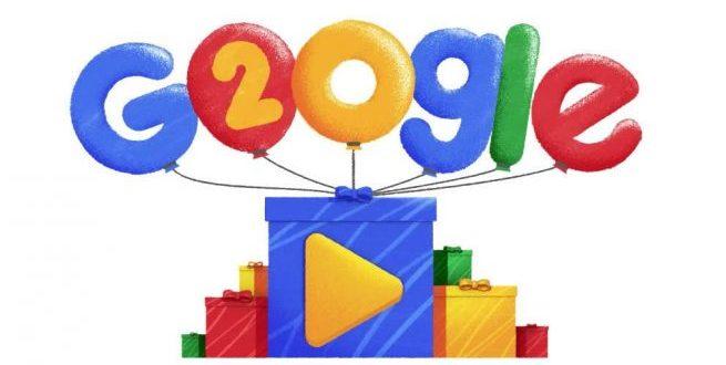 Google, 20 años connosotros