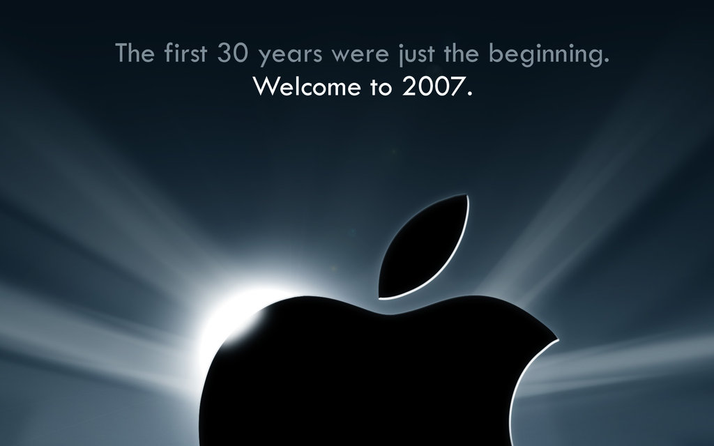 Vídeo del día: Apple, la primera Keynote (2007)