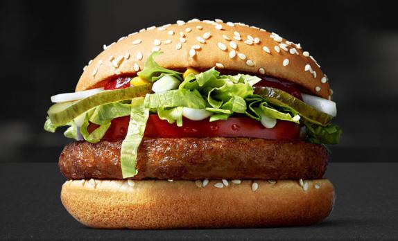 """¿Llegará lejos McDonald's con su hamburguesa """"vegana""""?"""