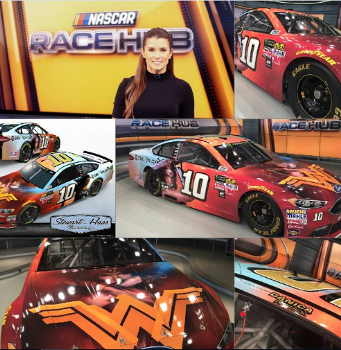wonder woman car nascar