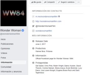 wonderwoman facebook