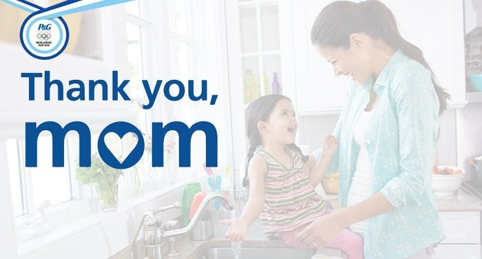 """Thank you, mom"" El emocionante anuncio de P&G"