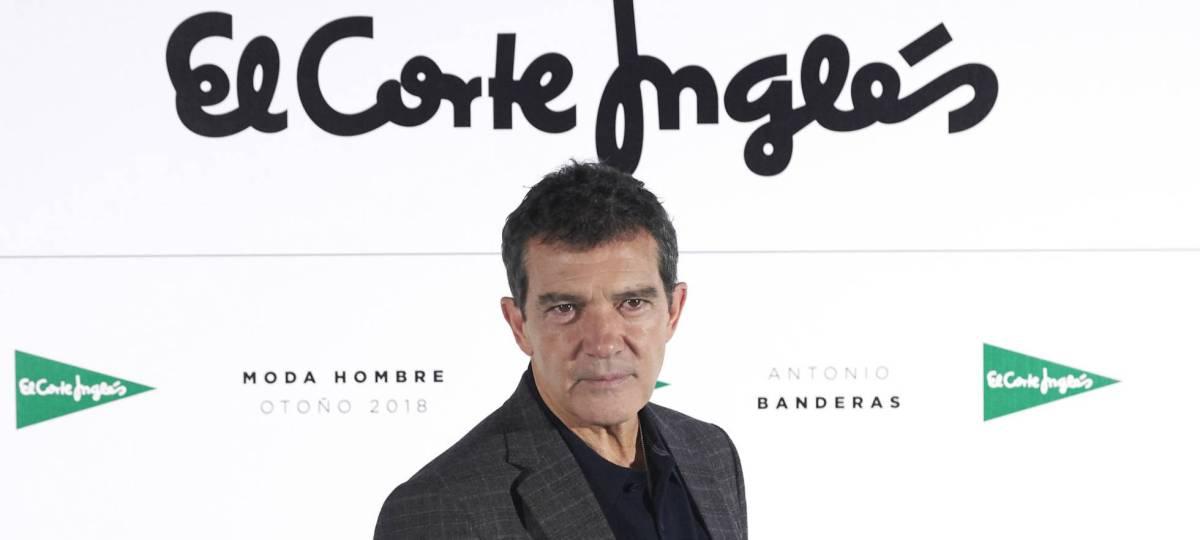 El Corte Ingles presenta a su nueva imagen para la colección Otoño-Invierno 2018: AntonioBanderas