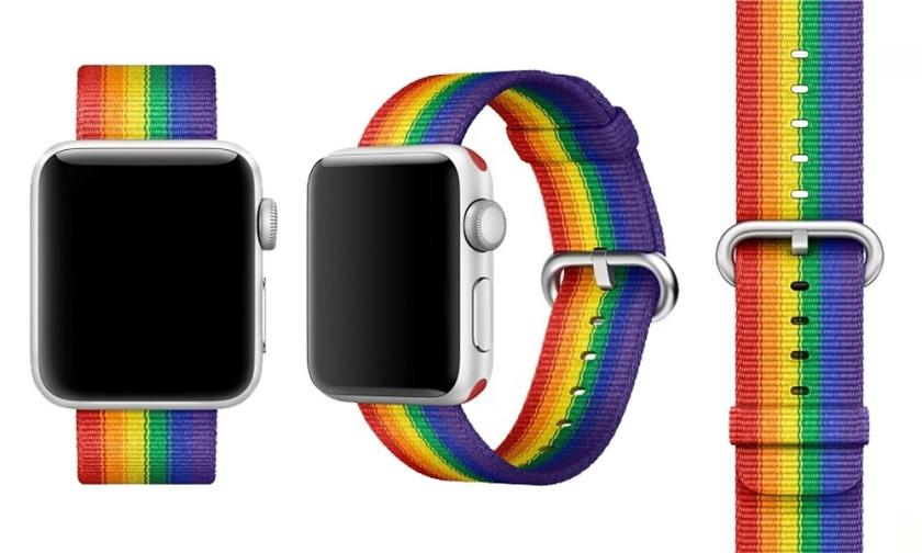 Apple-Watch-con-correa-en-favor-de-organizaciones-LGBT