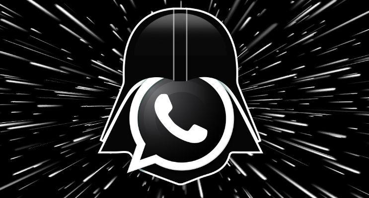 WhatsApp se pasa al ladooscuro