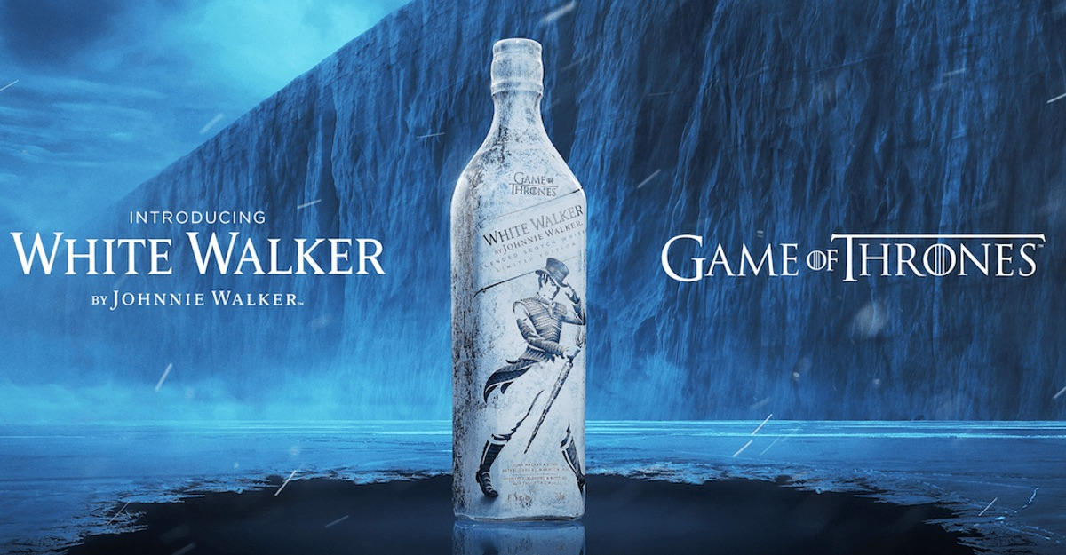 """Whisky is coming"" Johnnie Walker saca su propio caminante blanco"