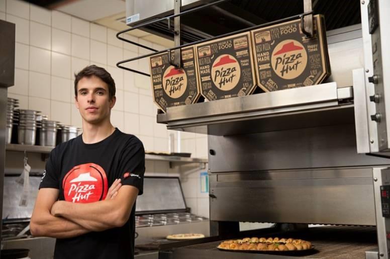 Alex Márquez cuenta con un nuevo patrocinador: PizzaHut