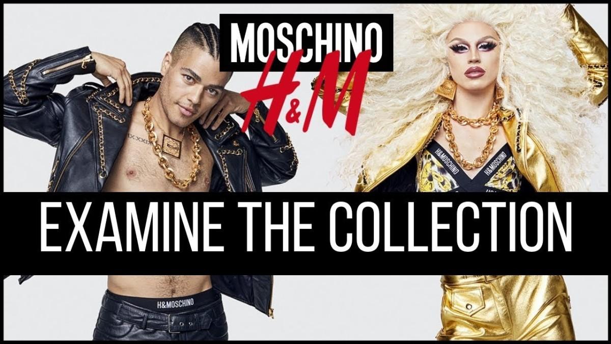 Moschino y H&M se funden para sacar una colección exclusiva que no dejará a nadieindiferente.