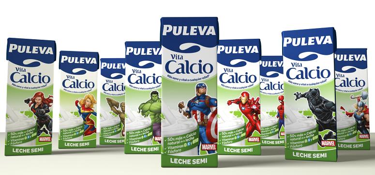"""Puleva busca incentivar sus ventas con """"Los vengadores"""""""